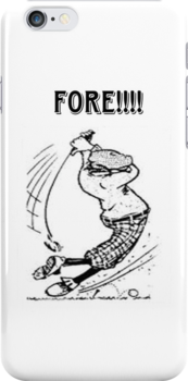 Fore!!! by Catherine Hamilton-Veal  ©