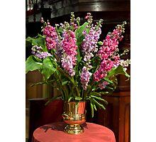 0248 Floral Arrangement Photographic Print