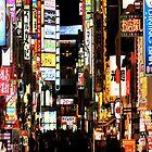 Shinjuku-??? (iPhone case) by AnaBanana