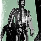 60's Cyberman (Distressed) by Iain Maynard
