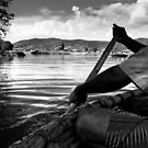 Coracles of River Kaveri by Dinni H