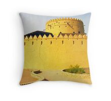 Al AIn Fort Throw Pillow