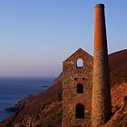 WHEAL COATES MINE AND A DRAGON by AndyReeve