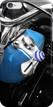 Motorcycle Tank -iPhone Case by Colleen Drew