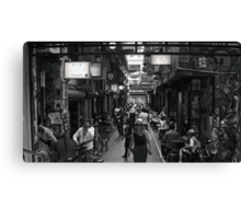 ~ Degraves Street Melbourne in B&W ~ Canvas Print