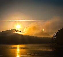 Smokey Sunrise by Chris Diebold