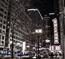 Chicago Theater by Chris Diebold