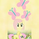 Fluttershy iPhone Case by SilverPonyWare