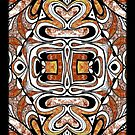 iphone case - black and tan by MelDavies