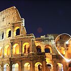 Colosseum by night by Kelly Kingston
