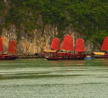 Halong Bay by supergold