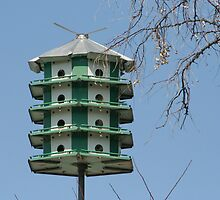 High Rise Birdhouse by AnnDixon