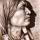Profile Jicarilla Apache Chief by Nicole Zeug