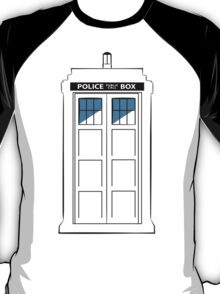 Multi-colour TARDIS T-Shirt