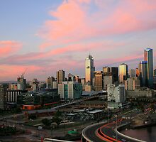 Urban Sunset by Cameron B