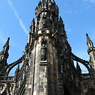 Edinburgh, Scott Monument, Scotland by PhotogeniquE IPA
