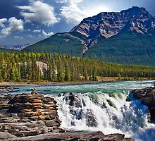 Canada. Jasper National Park. Athabasca Falls. by vadim19