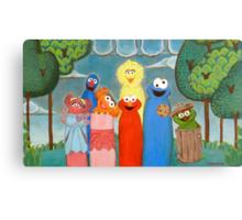 Sesame Street My Way 1 Canvas Print