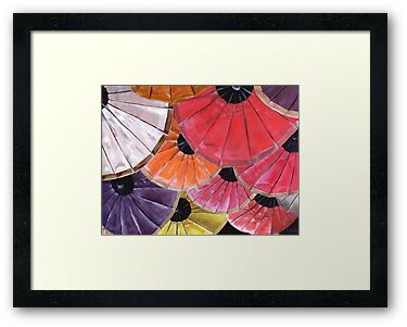 Jessica's Bright Umbrella's  by Jewel  Charsley