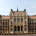 Hungarian Parliament - Budapest by Luca Tranquilli