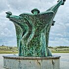 Juno Beach Monument  by cameraimagery2