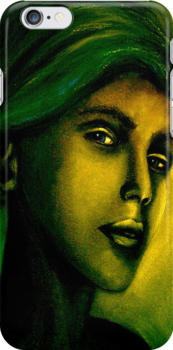She...Who Must Be Obeyed...IPhone Case by © Janis Zroback