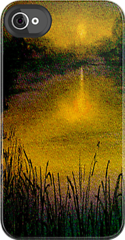 Heart of Darkness...The Marshes IPhone Case by © Janis Zroback