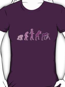 Girl Photographer Evolution T-Shirt