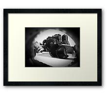 Zenit camera and 35mm film  Framed Print