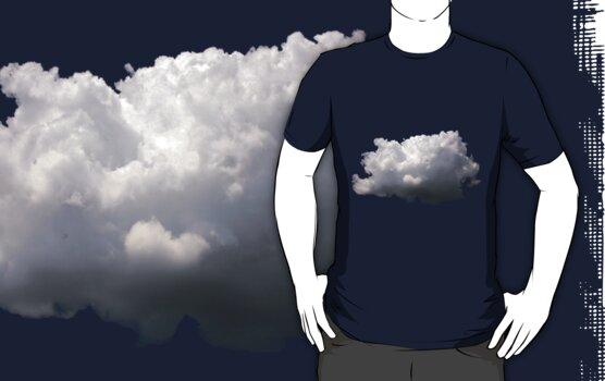 Cloud T-Shirt by Paul Gitto
