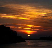 Golden Sunrise by Christian  Zammit
