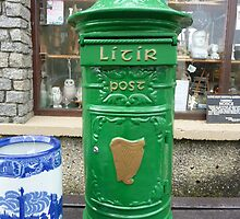 The Irish Post Box by Fara