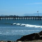 """Ocean, Surf & Pier""  Ventura, California by waddleudo"