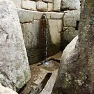 Images Of Peru - Machu Picchu (Fountain Number 1) by Rebel Kreklow