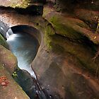The Devil's Bathtub, Hocking Hills State Park by Sam Warner