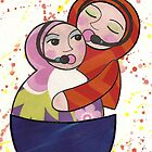 "Babushka ""duet"" by Kelly Gatchell Hartley"