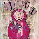 Mama babushka by Kelly Gatchell Hartley
