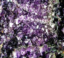gem-fire smoky amethyst crystals by rain-dogs