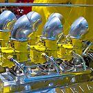 Slick Yellow Six Pack by Norman Repacholi