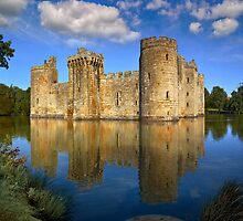 Bodiam Castle by Geoff Carpenter