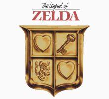Zelda Logo by hozg