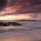 Sunset on Traigh Mhor by EvaMcDermott