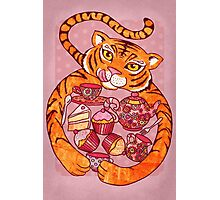 Tiger's Tea Party Photographic Print