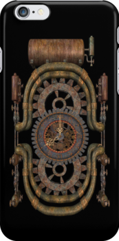 Time .. iphone case by LoneAngel