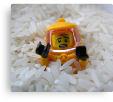 Lego Rice Canvas Print