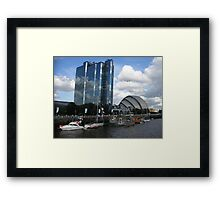 The Armadillo On The Clyde 2, Glasgow Framed Print