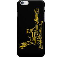 No Match for a Good Blaster - 26 Classic Sci Fi guns iPhone Case/Skin