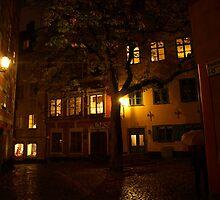 Gamla Stan in the dark by kostolany244