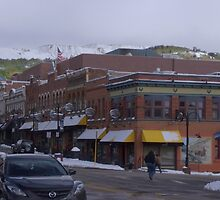 Bennett Street, Cripple Creek, CO by Margot Ardourel