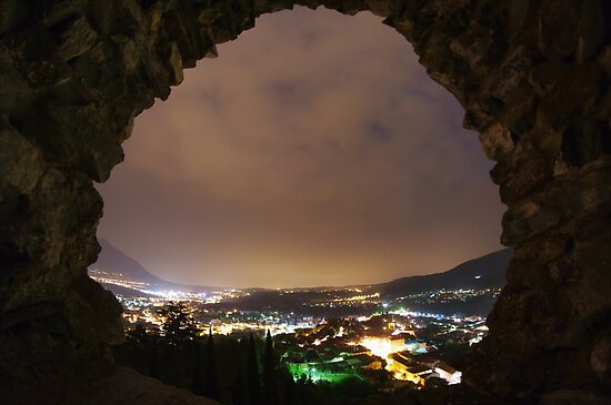 Avigliana Castle by Guy Carpenter